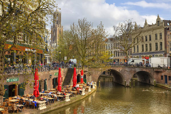 Utrecht Art Print featuring the photograph Utrecht by Joana Kruse