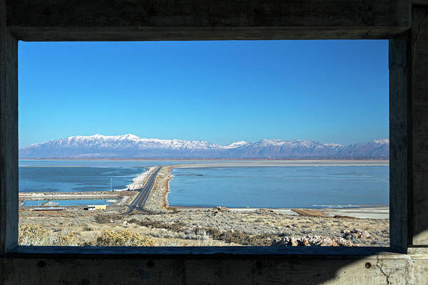 Antelope Island Art Print featuring the photograph View From Antelope Island by Jim West