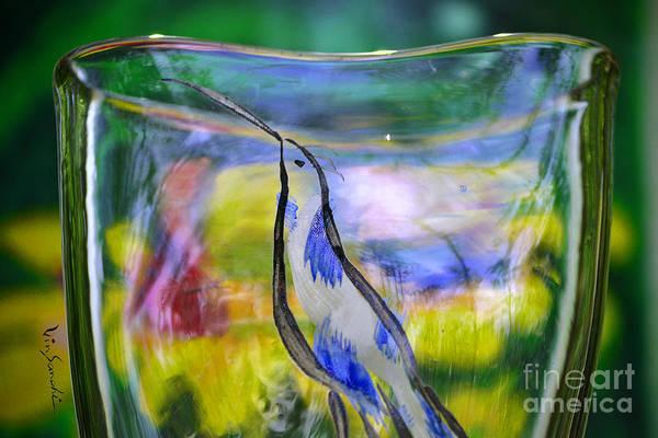 Nature Art Print featuring the glass art Vinsanchi Glass Art-1 by Vin Kitayama