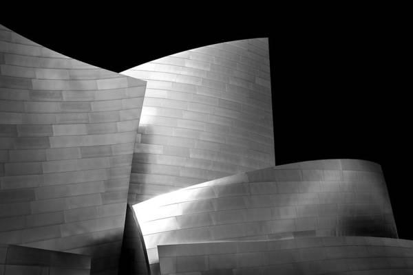 Los Angeles Art Print featuring the photograph Walt Disney Concert Hall 1 by Az Jackson