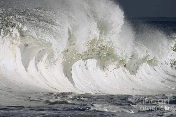 Beautiful Art Print featuring the photograph Wave Whitewash by Vince Cavataio