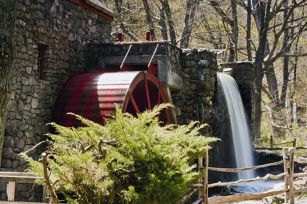 Wayside Grist Mill Art Print featuring the photograph Wayside Grist Mill 3 by Dennis Coates
