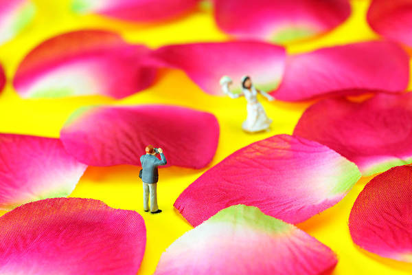 Wedding Art Print featuring the photograph Wedding Photography Little People Big Worlds by Paul Ge