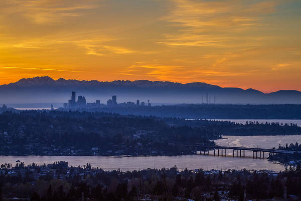 Seattle Art Print featuring the photograph Gateway To Seattle by Ken Stanback