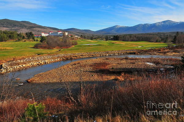 White Mountains Scenic Vista Art Print featuring the photograph White Mountains Scenic Vista by Catherine Reusch Daley