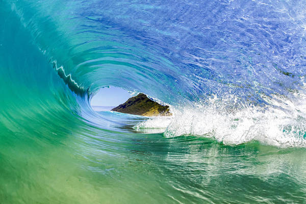 Surf Art Print featuring the photograph Wide Open by Gregg Daniels