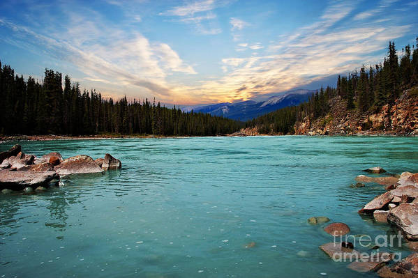 Lake Art Print featuring the photograph Wilderness Lake by Elaine Manley