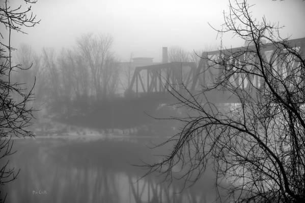 Landscape Art Print featuring the photograph Winter Fog by Bob Orsillo