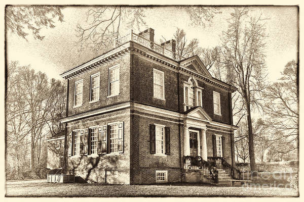 Woodford Art Print featuring the photograph Woodford Mansion by Olivier Le Queinec