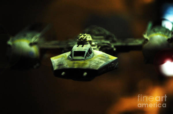 Fighter Art Print featuring the photograph Y Wing Of Star Wars by Micah May