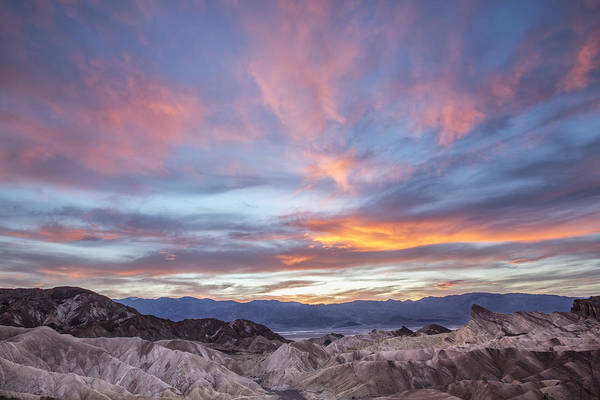 Horzontal Art Print featuring the photograph Zabriski Colors by Jon Glaser