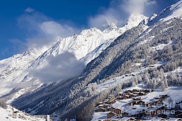 Mountain Art Print featuring the photograph Zermatt Mountains by Brian Jannsen