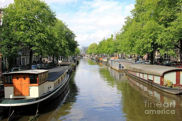 Amsterdam Art Print featuring the photograph Amsterdam by Sophie Vigneault