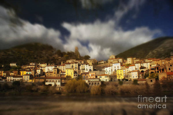 Roquebrun Art Print featuring the photograph Roquebrun by Paul Grand