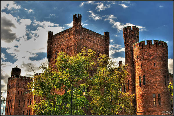 Art Print featuring the photograph 007 The 74th Regimental Armory In Buffalo New York by Michael Frank Jr