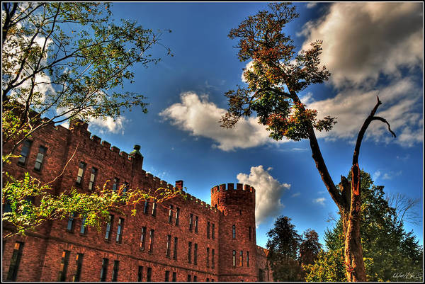Art Print featuring the photograph 002 The 74th Regimental Armory In Buffalo New York by Michael Frank Jr
