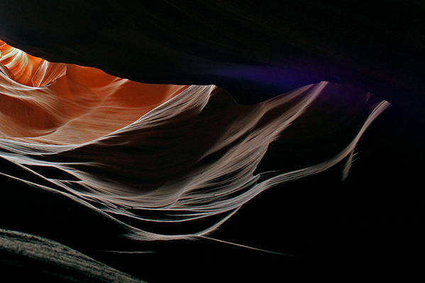 Antelope Art Print featuring the photograph Antelope Canyon Perspective by Cedric Darrigrand