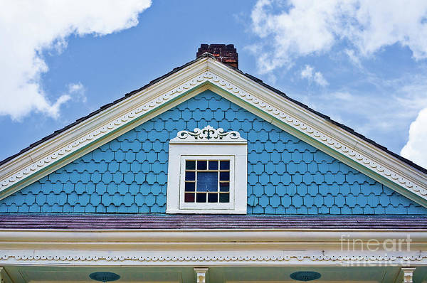 New Orleans Art Print featuring the photograph Architectural Detail 1 by Frances Hattier