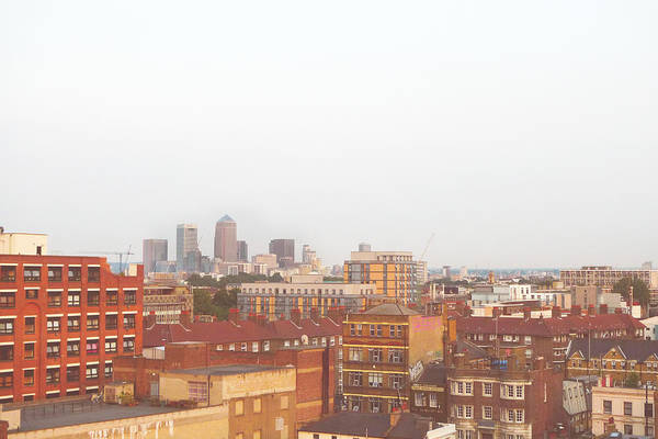 Horizontal Art Print featuring the photograph East London by Le Chateau Ludic