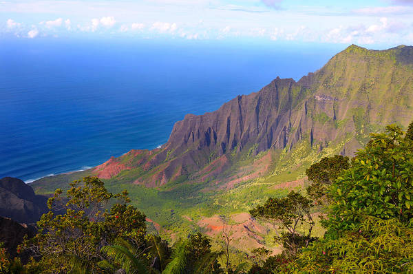 Valley Art Print featuring the photograph Kalalau Valley by Kenneth Sponsler