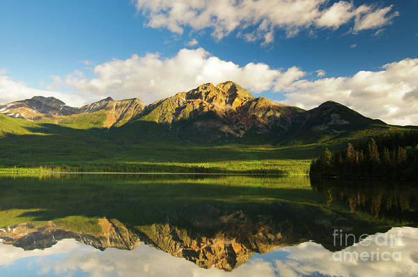 Alberta Art Print featuring the photograph Pyramid Lake by Ginevre Smith