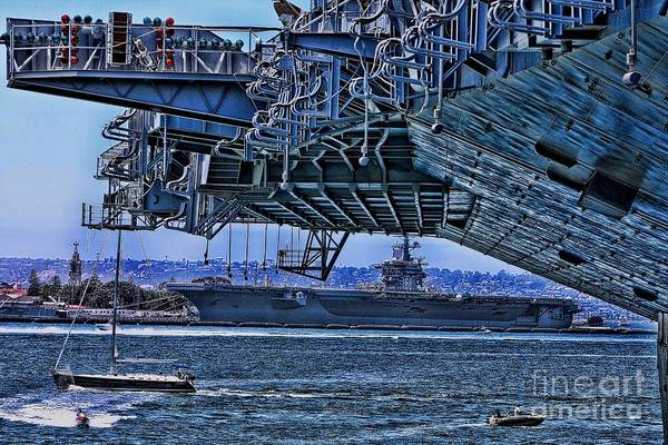 Aircraft Carriers Art Print featuring the photograph The Carriers by Tommy Anderson