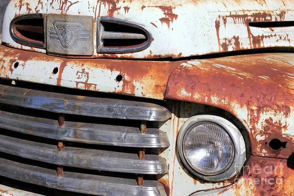 Used Car Art Print featuring the photograph Used by Sophie Vigneault