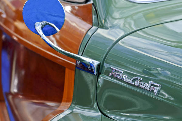 1948 Chrysler Town And Country Convertible Coupe Art Print featuring the photograph 1948 Chrysler Town And Country Convertible Coupe by Jill Reger