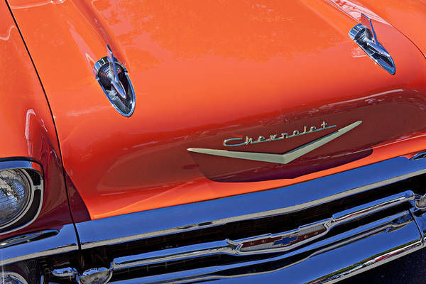 1957 Chevy Bel Air Art Print featuring the photograph 1957 Chevy Bel Air by Garry Gay
