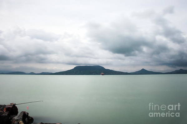 Nature Art Print featuring the photograph Landscape by Odon Czintos