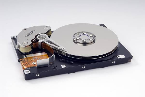 Machine Art Print featuring the photograph Computer Hard Disc by Trevor Clifford Photography