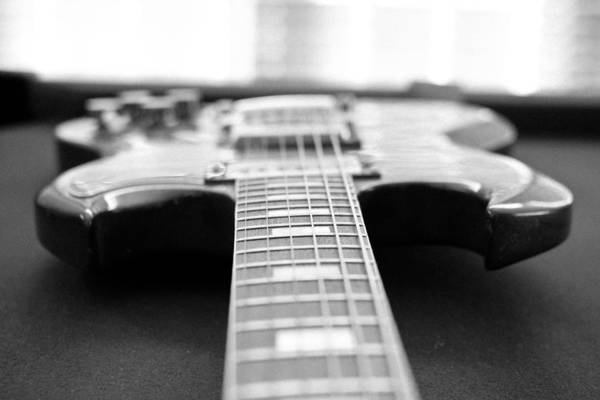 Guitar Art Print featuring the photograph Guitar by Jeff Porter