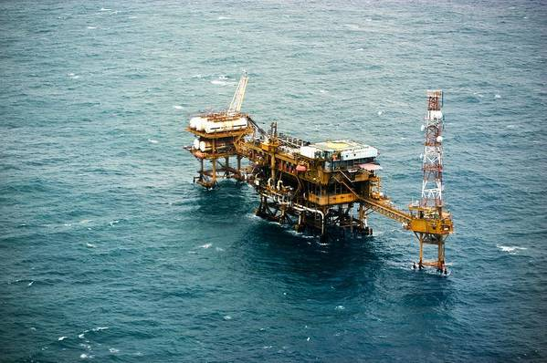 Equipment Art Print featuring the photograph Oil Platform by Arno Massee