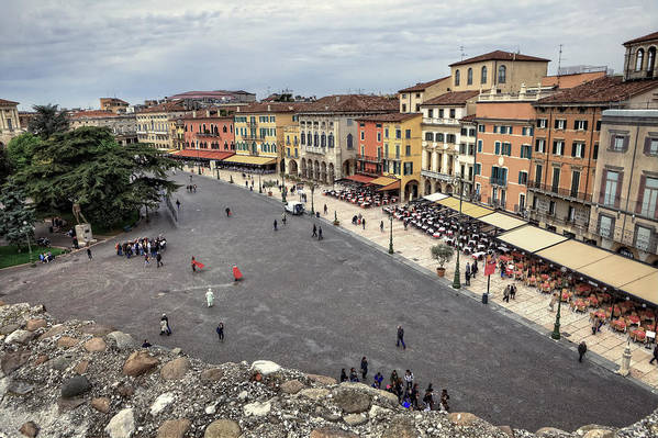 Arena Art Print featuring the photograph Verona by Joana Kruse