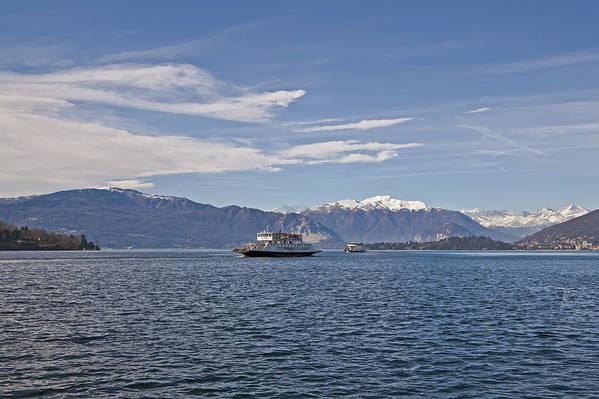 Lago Maggiore Art Print featuring the photograph Lake Maggiore by Joana Kruse