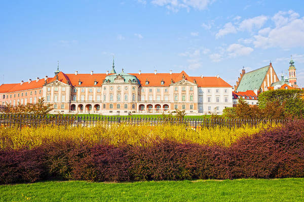 Warsaw Art Print featuring the photograph Royal Castle In Warsaw by Artur Bogacki