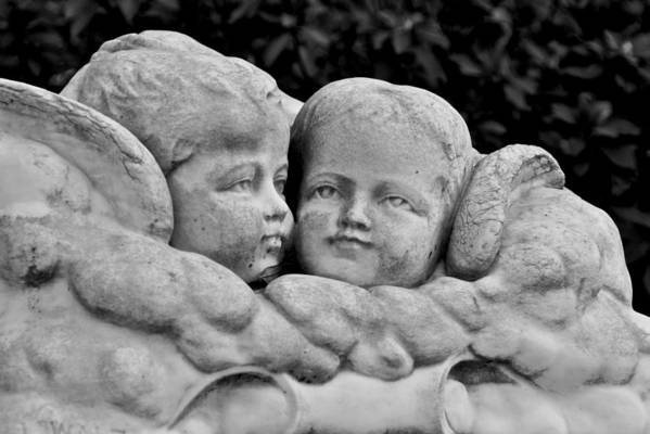 Savannah Angels Art Print featuring the photograph Angels Among Us by Leslie Lovell
