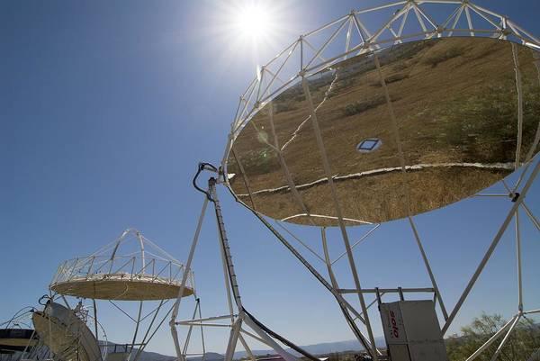 Equipment Art Print featuring the photograph Solar Furnace, Spain by Chris Knapton