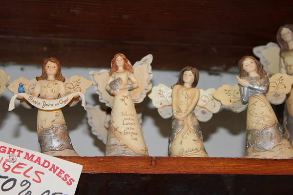 5 Angels Ucluelet Ceramic On Sale Art Print featuring the photograph 5 Angels by Brian Sereda