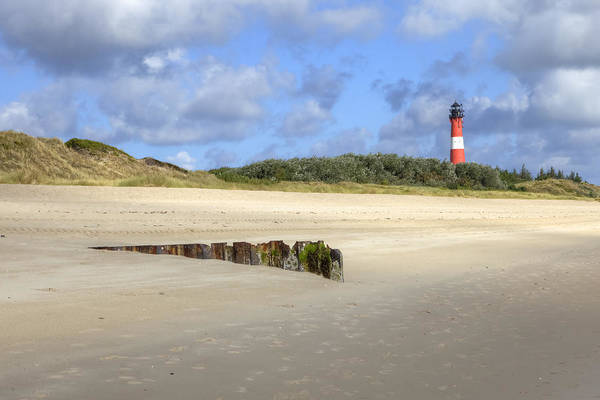 Hornum Art Print featuring the photograph Hoernum - Sylt by Joana Kruse