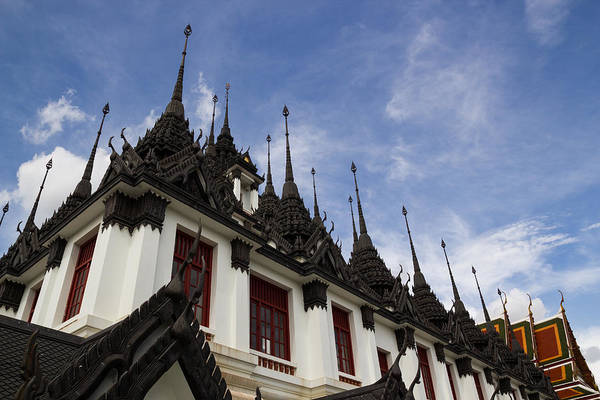 Architecture Art Print featuring the photograph Loha Prasat The Metal Palace by Chaichan Ingkawaranon