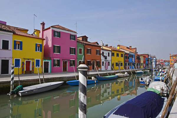 Architecture Art Print featuring the photograph Burano - Venice - Italy by Joana Kruse