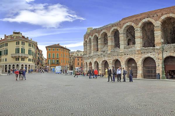 Arena Art Print featuring the photograph Verona by Joana Kruse