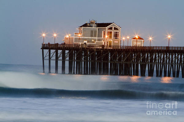 Oceanside Art Print featuring the photograph 8039 by Daniel Knighton