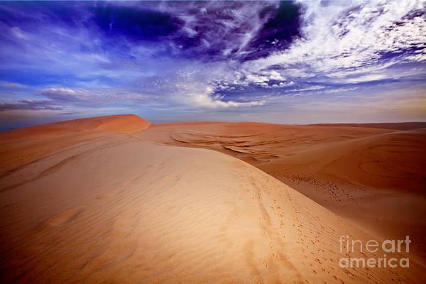 Dunes Art Print featuring the photograph Desert by MotHaiBaPhoto Prints