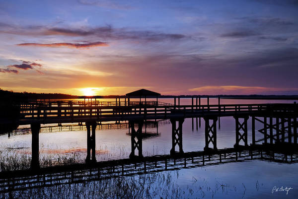Beaufort County Art Print featuring the photograph A December Sky by Phill Doherty