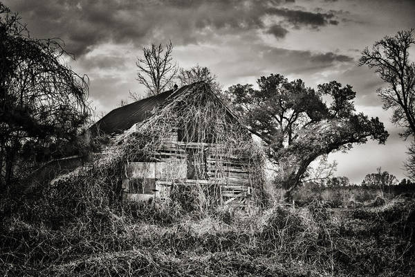 Barn Art Print featuring the photograph Abandoned Barn 2 by Brenda Bryant