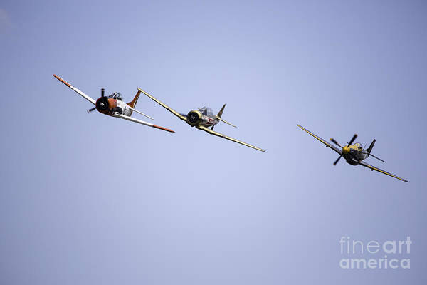Air Show Art Print featuring the photograph Air Show 11 by Darcy Evans