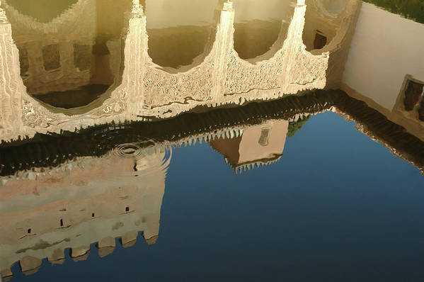 Alhambra Art Print featuring the photograph Alhambra Pool by Mary Lane