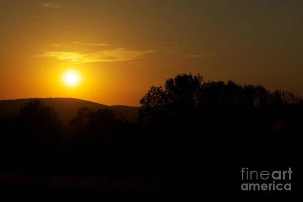 Sunset Art Print featuring the photograph An Alexandria Sunset by Tom Luca
